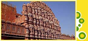 Hawa Mahal or Palace of the Winds